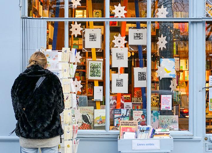 Oberoende bokhandlare i Storbritannien sålde bra under julen