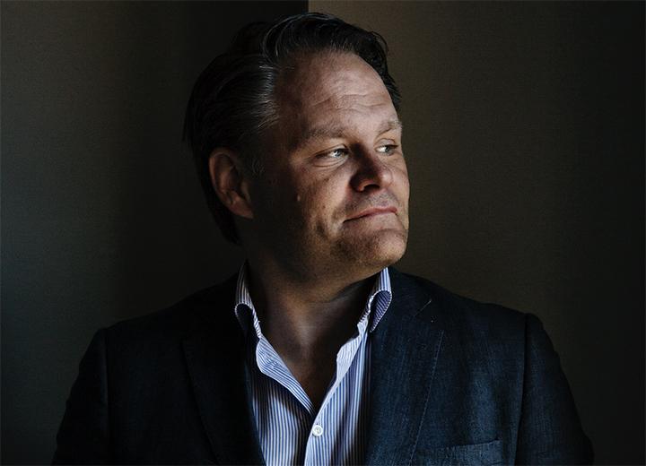 Håkan Rudels, vd på Bonniers Books.