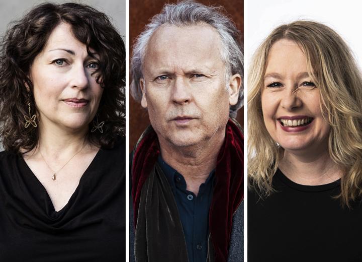 Klas Östergren, Elisabeth Åsbrink och Åsa Linderborg ger ut böcker på Polaris i höst