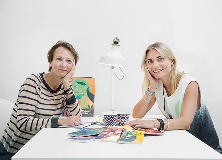 Lena Maria Nordstrand, Nypon, och Linda Norstrand, Vilja.