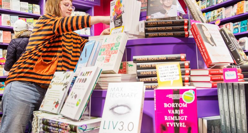 Återhämtning för fysisk bokhandel