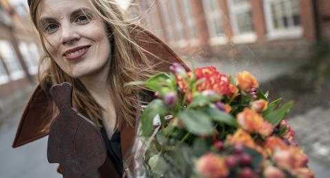 Albert Bonniers-författaren Lydia Sandgren tilldelas Augustpriset för Årets skönlitterära bok.