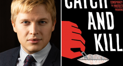 Ronan Farrows bok Catch and kill baseras på den Pulitzerbelönade journalistiken om Harvey Weinstein.
