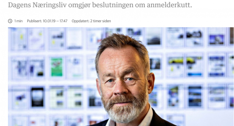Chefredaktör Amund Djuve.