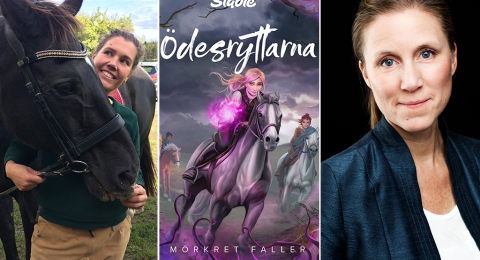 Malin Eriksson Sjögärd är hästboksförfattare och lektor på Linnéuniversitet. Ulrika Caperius är förläggare på Bonnier Carlsen.