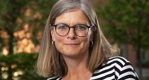 Johanna Hansson, ordförande för Svensk biblioteksförening.