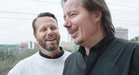 Karl Rosander och Måns Ulvestam.