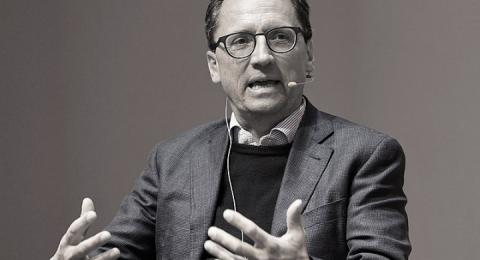 Morten Hesseldahl, vd på Gyldendal.