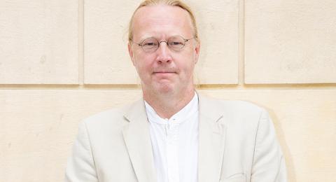 Pelle Andersson, förlagschef på Ordfront.