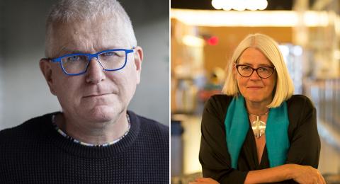 Per Wirtén och Ulrika Knutson.
