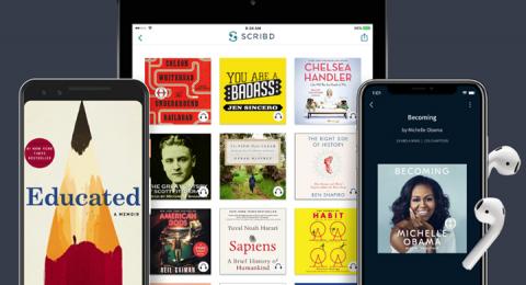 Nu tar förlaget även bort titlar från amerikanska streamingplattformen Scribd