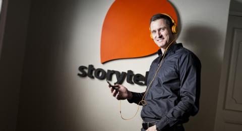 Jonas Tellander, vd på Storytel.